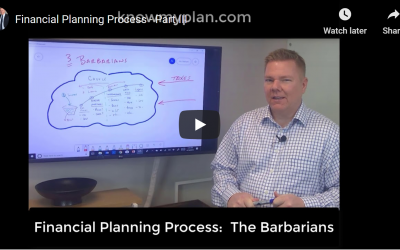 Financial Planning, Part III:  The Barbarians