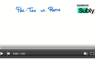 What Are The Differences Between A Pre-Tax And Roth 401K